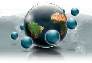 Around the earth: Different views , Different Continents.....ONE WORLD!