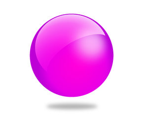 Glossy Ball 7: Set of different colored gloss ball illustrations