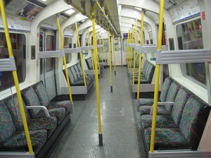 tube train interior