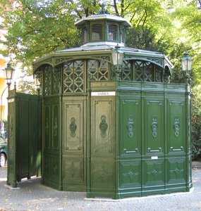 historic public toilet: historic public toilet (called café octagon)