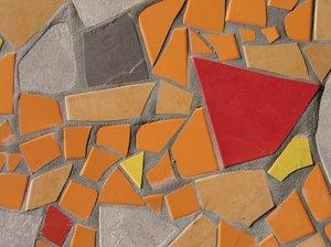 abstract orange tiles texture