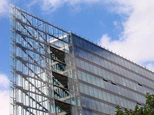 triangle glass architecture