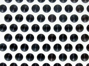 circular glass texture