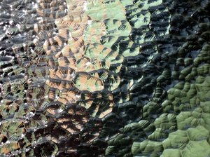 pastel glass texture
