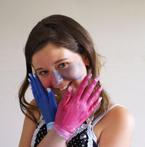 Coloured Hands