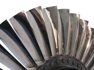 metal fan blades