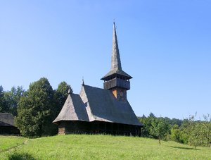 Romanian wooden church