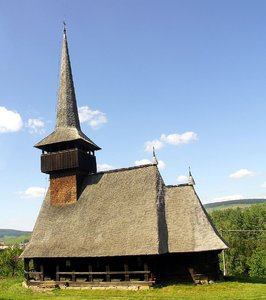Romanian wooden church: Romanian wooden church.You can check the museum at: http://www.muzeul-etnogra .. Please comment and/or rate. Thanks.