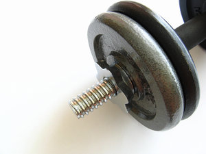 Dumbbells: Please contact me if you need the photo in a larger size.