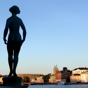 Evening in Stockholm: A summer evening in Stockholm