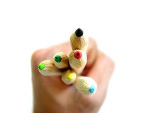 Coloured pencils 2