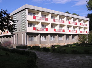 Hotel: A hotel from communist regime. Swinoujscie, Poland.