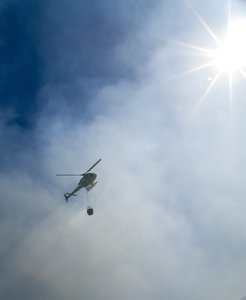 Helicopters fire 2