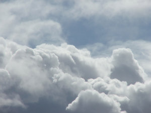 clouds: various cloud formations and weather conditions