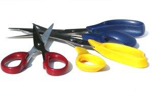 3 scissors