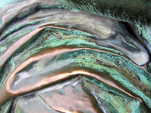 abstract bronze texture