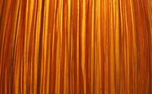 textures - lampshade: textures and appearance of orange lampshade textile