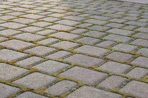 square pavement