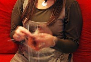 Knitting handwork