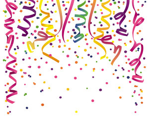 Confetti 2: Variations on a confetti background.