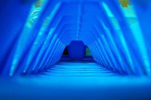 Blue tunel