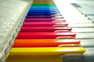 Plastic rainbow