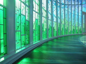 Chapel 02: Inside the chapel of the Lutheran University of Brazil.