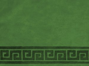 Green Textured Border
