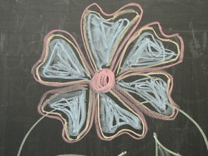 blackboard drawing