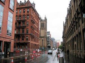 glasgow street scenery