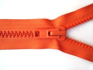 Orange Zipper 2