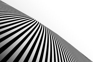 Black Striped Perspective 1