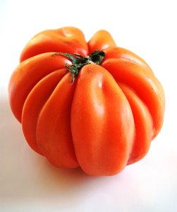 Tomato Cuore (Italy): This type of tomato is called Cuore and comes from Italy