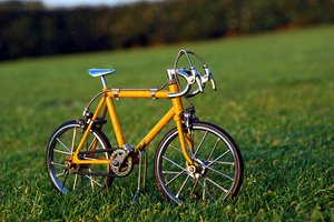 Bicycle on the grass 1