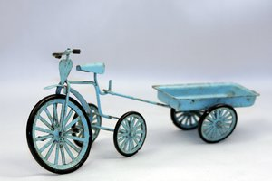 Charge tricycle miniature