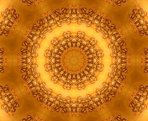golden seed circle: abstract backgrounds, textures, patterns, kaleidoscopic patterns, circles, shapes and  perspectives from altering and manipulating images