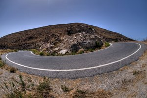 Hairpin bend - HDR