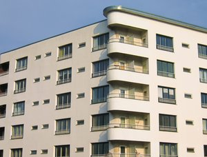 apartments and balconies