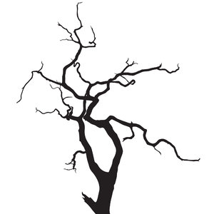Silhouette Tree 1
