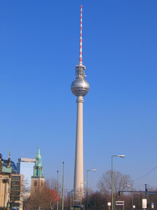berlin television tower 2 free stock photos   rgbstock  free stock