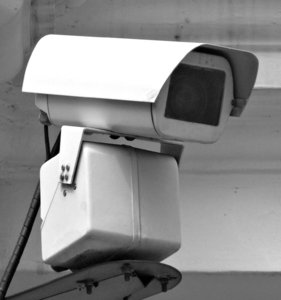 secure seeing: external security camera