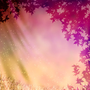 Fairy Dust: Fun fairy background with hidden face