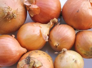 organic onions