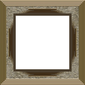 Ornate Square Frame 3