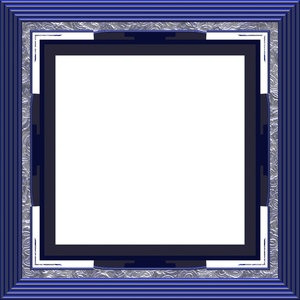 Ornate Square Frame 1