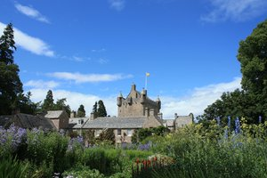 Cawdor Castle: Cawdor Castle, near Nairn, Scotland