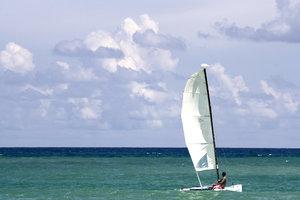 Catamaran in the Dominican Rep
