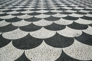 Patterned pavement