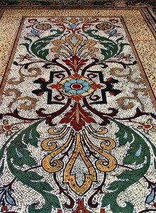 old floor mosaics