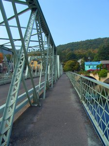 Shelburne Falls Steel Bridge
